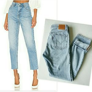 Levis 501 Wedgie High Waist Buttonfly Jeans 27×32